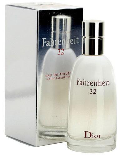 Fahrenheit 32 by Christian Dior, punto de congelación