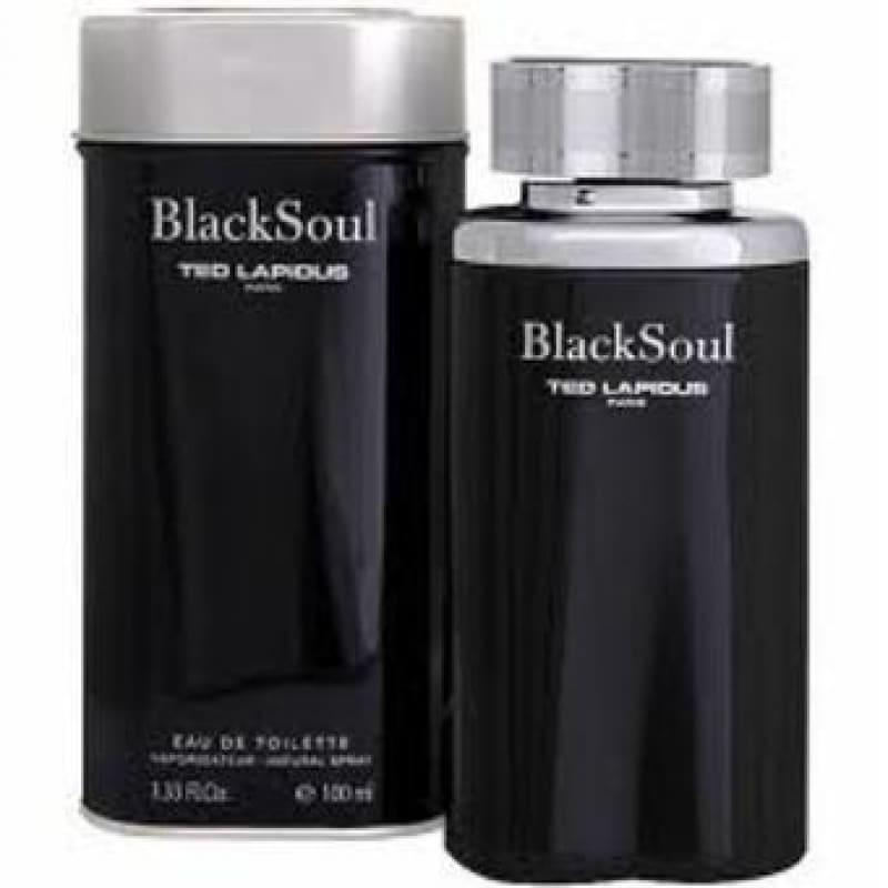 Black Soul by Ted Lapidus, inspirado en piedra