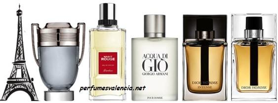 Los 10 perfumes más elegidos por hombres.
