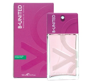 B.United Woman by Benetton en Perfumes Valencia