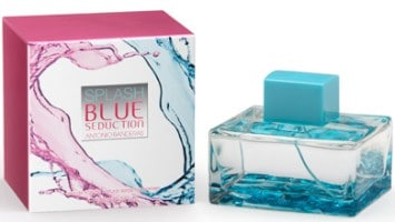 Splash Blue Seduction for Women by Antonio Banderas en Perfumes Valencia