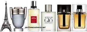 Lista de los 10 perfumes más elegidos por los hombres, en perfumesvalencia