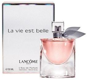 Perfumes Valencia, La vie est belle de Lancome, perfumes para mujer
