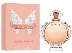 Olimpea de Paco Rabanne, una fragancia ideal para regalar en otoño